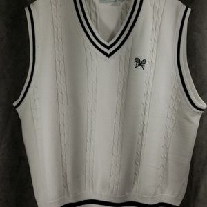 IZOD Tennis Sweater Vest